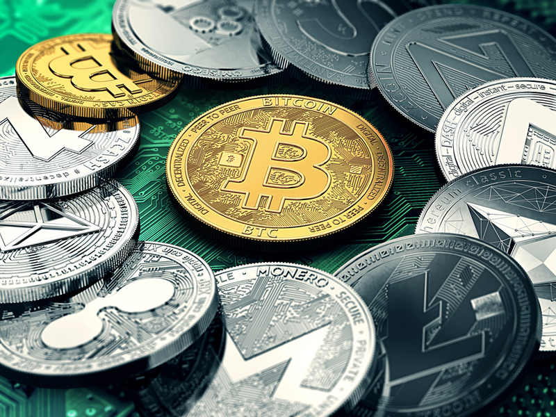 different representations of cryptocurrencies